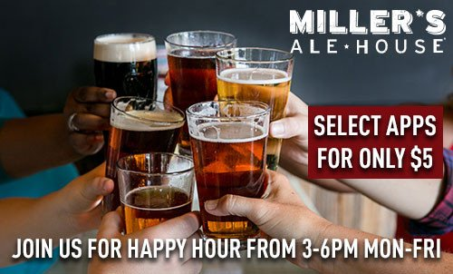 Happy Hour at Miller's Ale House
