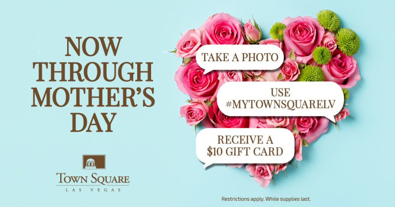 Mother's Day Hashtag Offer
