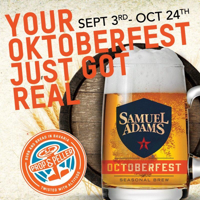 Oktoberfest Just Got Real