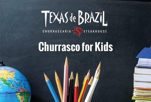 Back to School Savings at Texas de Brazil