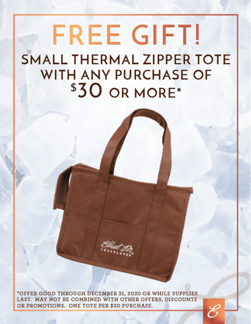Free Gift - Small Ethel M Tote