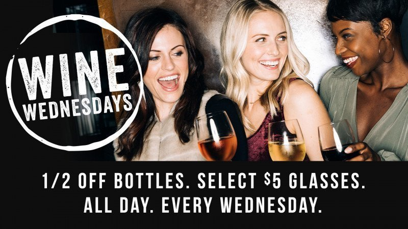 Wine Wednesdays at Yard House