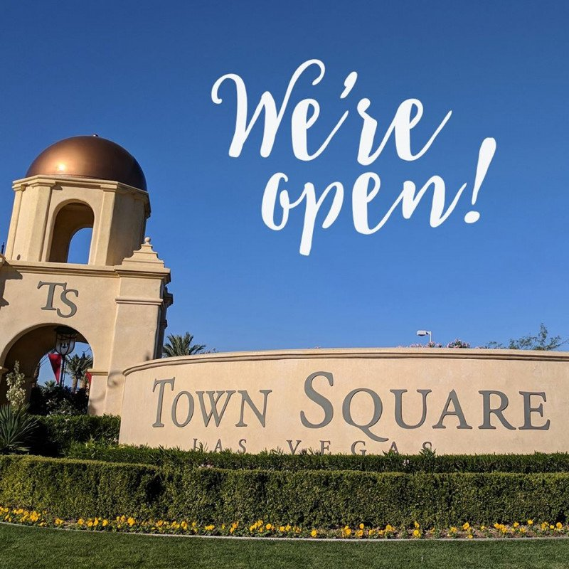 Town Square is OPEN!