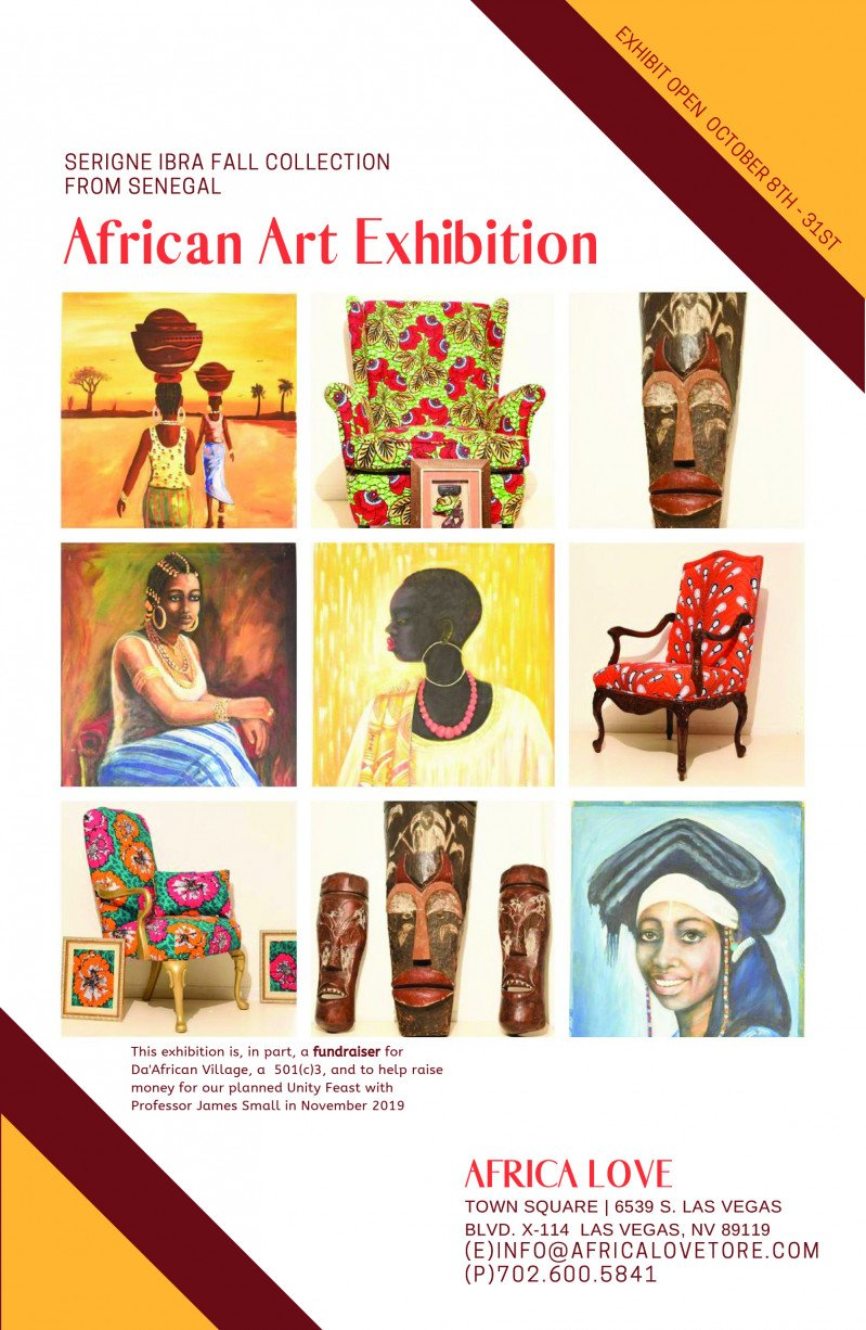 African Art Exhibit at Africa Love