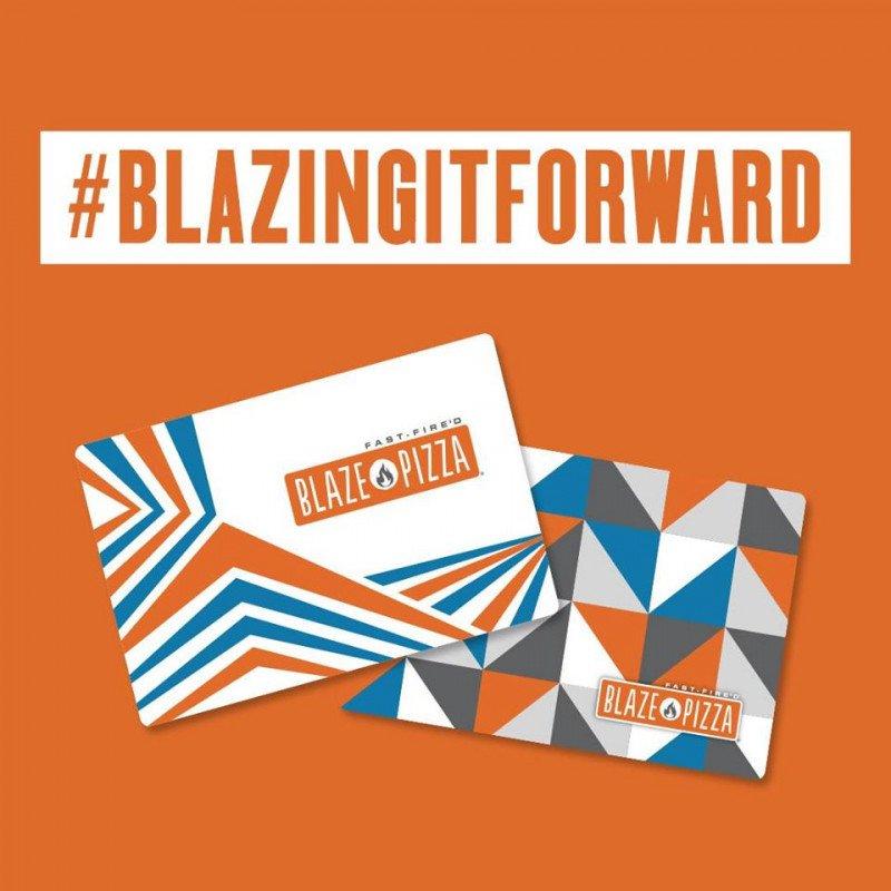 #BlazingItForward