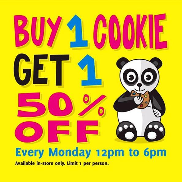 Monday BOGO 50% Off Cookies