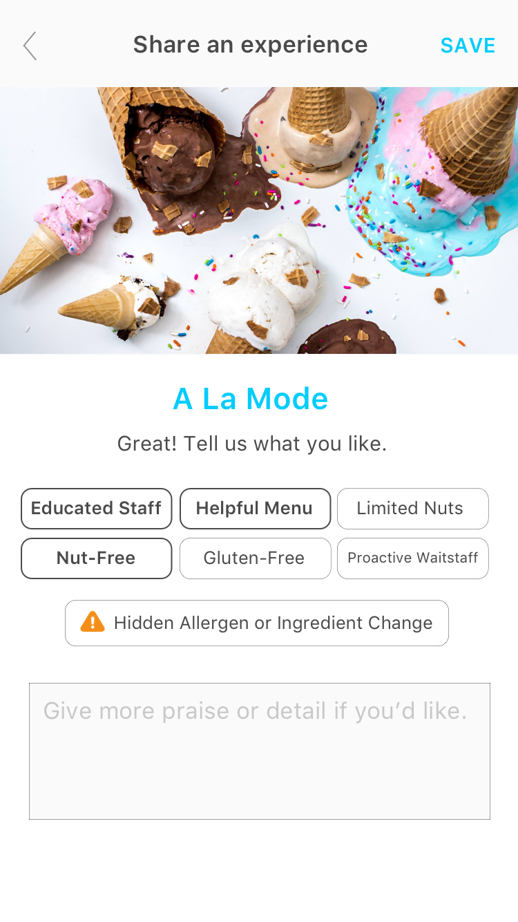 Spokin the easiest way to manage food allergies share your favorite restaurants food products hotels and more forumfinder Choice Image