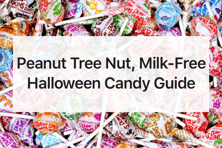 Peanut, Tree Nut and Milk-Free Halloween Candy Guide