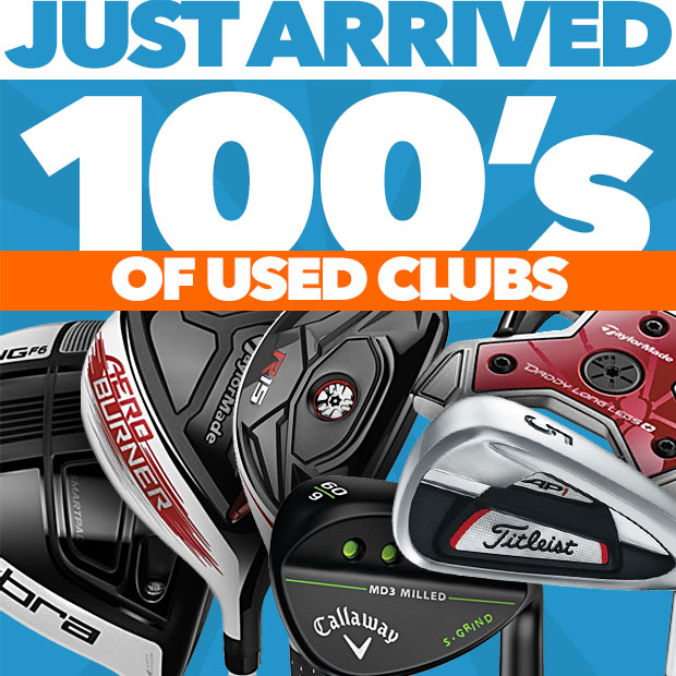 Just Arrived - 100's Of Used Clubs