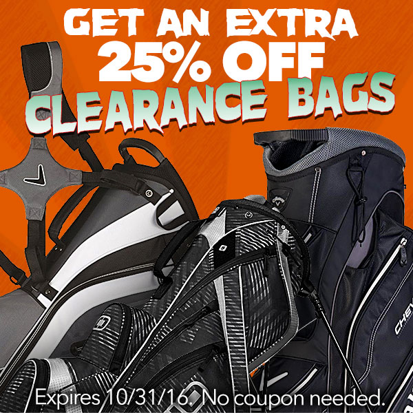 Extra 25% Off Clearance Bags