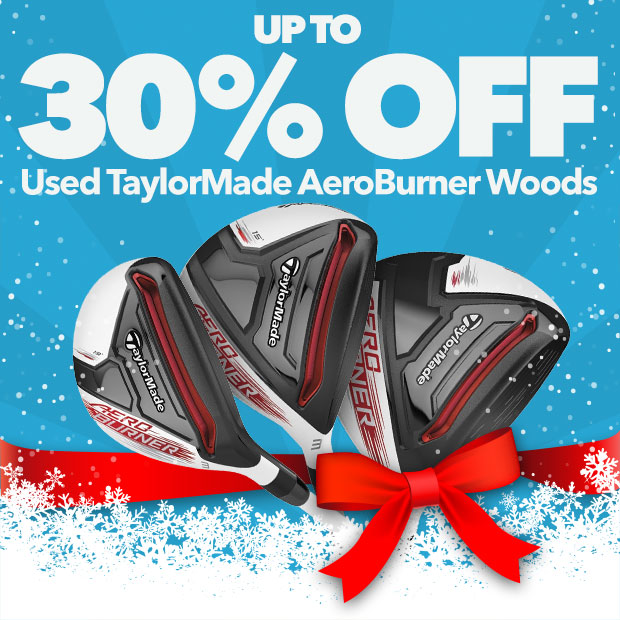 Up To 30% Off Used TaylorMade Aeroburner Woods