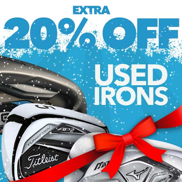 Extra 20% Off Used Irons