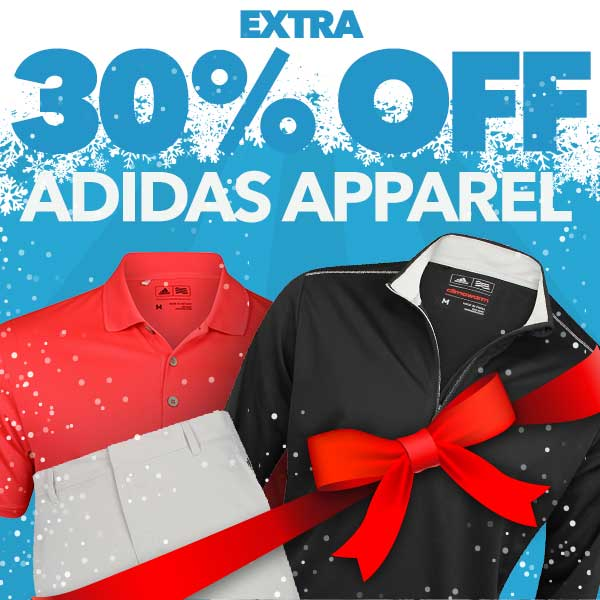 Extra 30% Off adidas Apparel