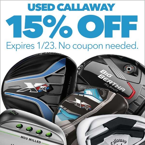 15% Off Used Callaway