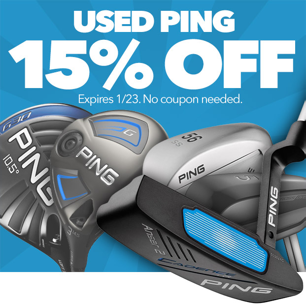 15% Off Used Ping