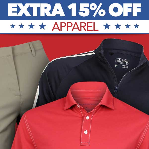 aExtra 15% Off Apparel