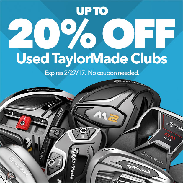 20% Off Used TaylorMade