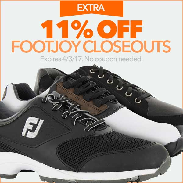 Extra 11% Off FootJoy Closeouts