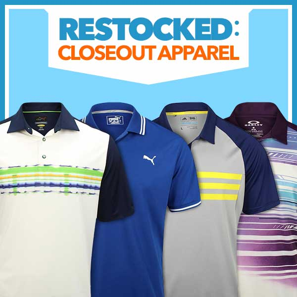Restocked: Closeout Apparel