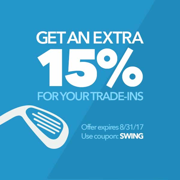 Get an Extra 15% For Your Trade-Ins