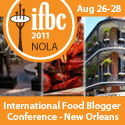 International Food Blogger Conference 2011 NOLA