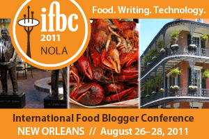 International Food Bloggers Conference 2011 NOLA