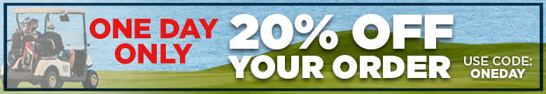 20% Off One Day Only, Use Code: oneday