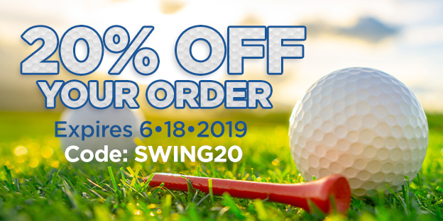 20% Off Your Order with code SWING20