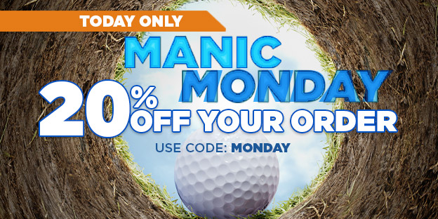 Manic Monday - 20% Off Your Order - Today Only