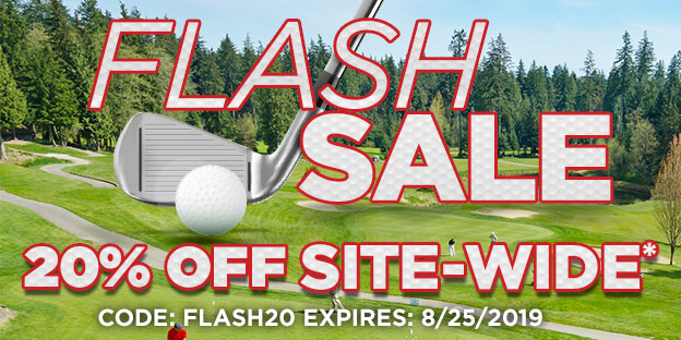 20% Off Site-wide. Code: Flash20 - Expires 8/25/2019. PING and other exclusions apply.