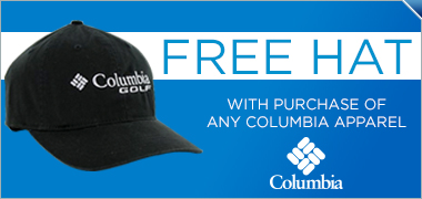 Buy Select Columbia Apparel, Get Free Columbia Hat