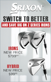 Srixon Z Series Iron Price Drop - Save Up To $200