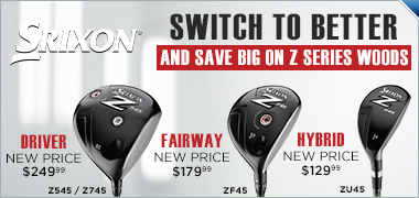 Srixon Z Series Wood Price Drop - Save Up To $150