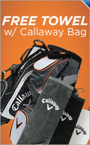 Buy Select Callaway Bags, Get Towel Free