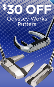 $30 Off Select Odyssey Works Putters