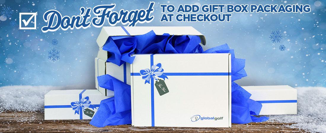 Add Gift Box at Checkout