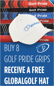 Buy 8 Golf Pride Grips Receive a Free GlobalGolf Hat
