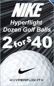 Buy 2 Dozen Nike HyperFlight Golf Balls For $40