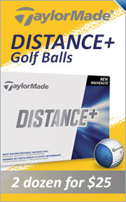 Buy 2 TaylorMade Distance Plus Golf Balls For $25