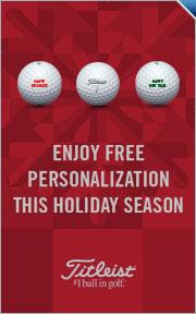 Free Personalization on Titleist Golf Balls