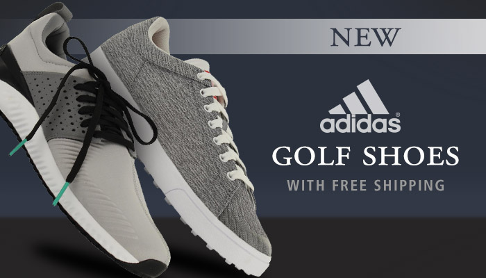 New Golf Shoes from adidas + Free Shipping
