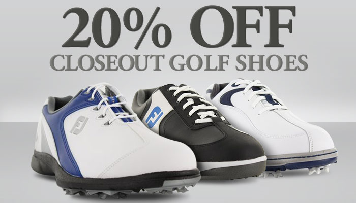20% Off Closeouts