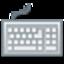 Virtual scanning keyboard