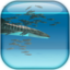 Whale shark and Sardines Live Wallpaper