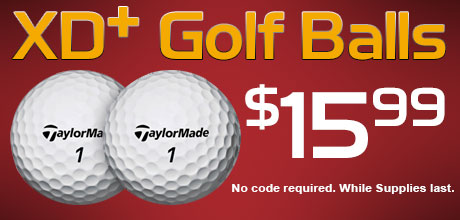 TaylorMade XD+ Golf Balls