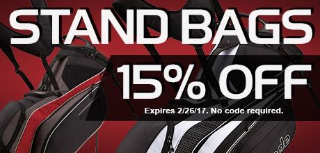 15% Off Stand Bags