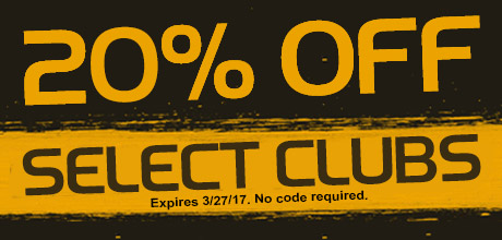 20% Off Select Clubs