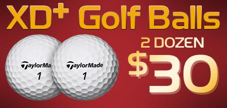 TM XD+ Golf Balls - 2 Dozen for $30