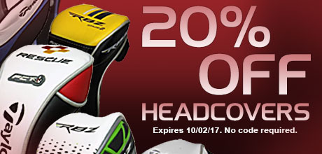 20% Off Headcovers