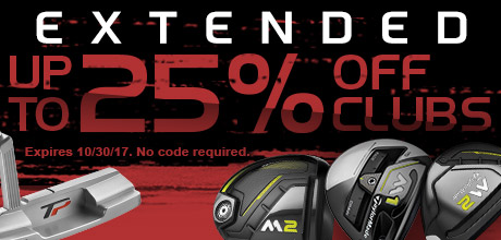Extended: Up To 25% Off Clubs